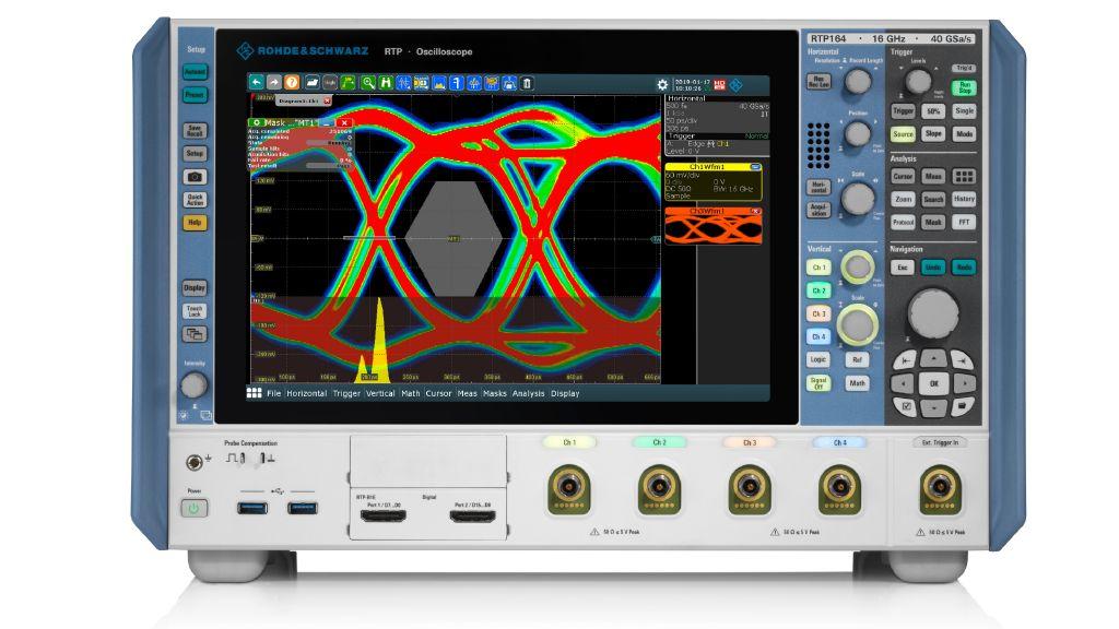 RTP oscilloscope Rohde & Schwarz