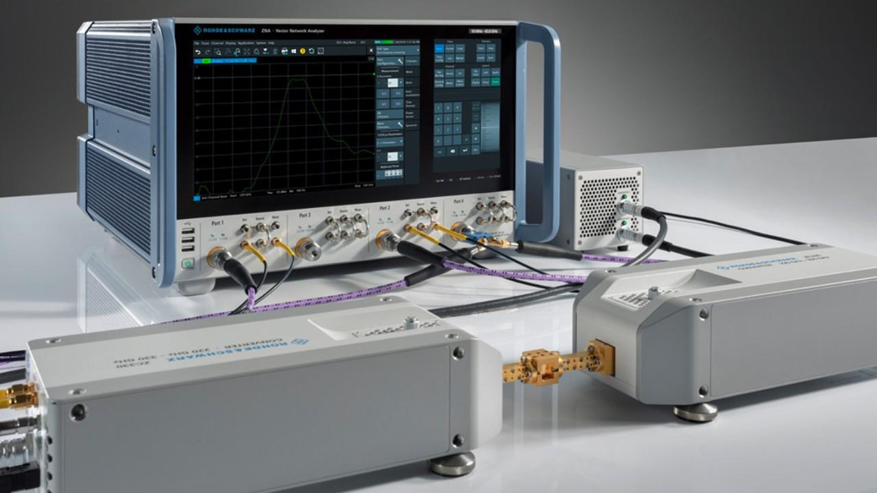 适用于毫米波网络分析的紧凑型解决方案