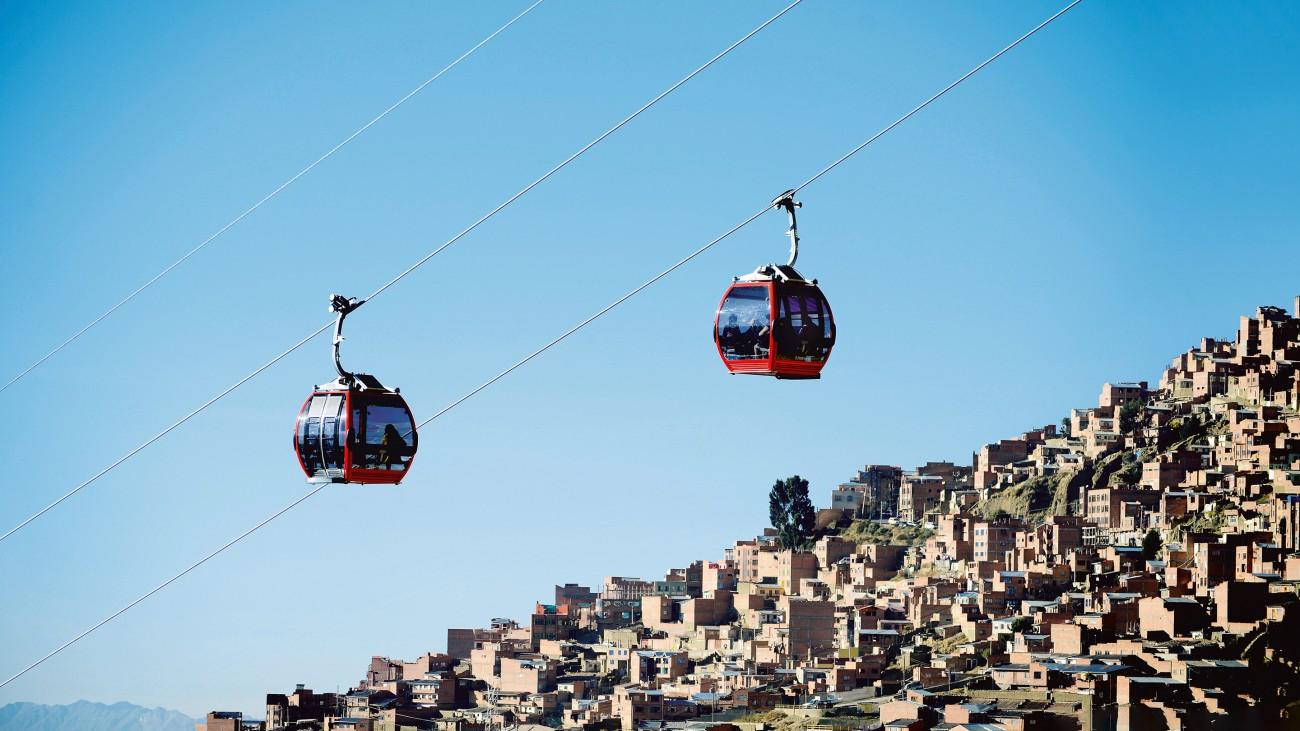 未来交通:拉巴斯的空中缆车