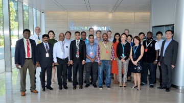 The ITU Academy in Singapore transferred a great deal of knowledge around spectrum monitoring.