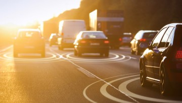 URLLC will enable automated driving in the future.
