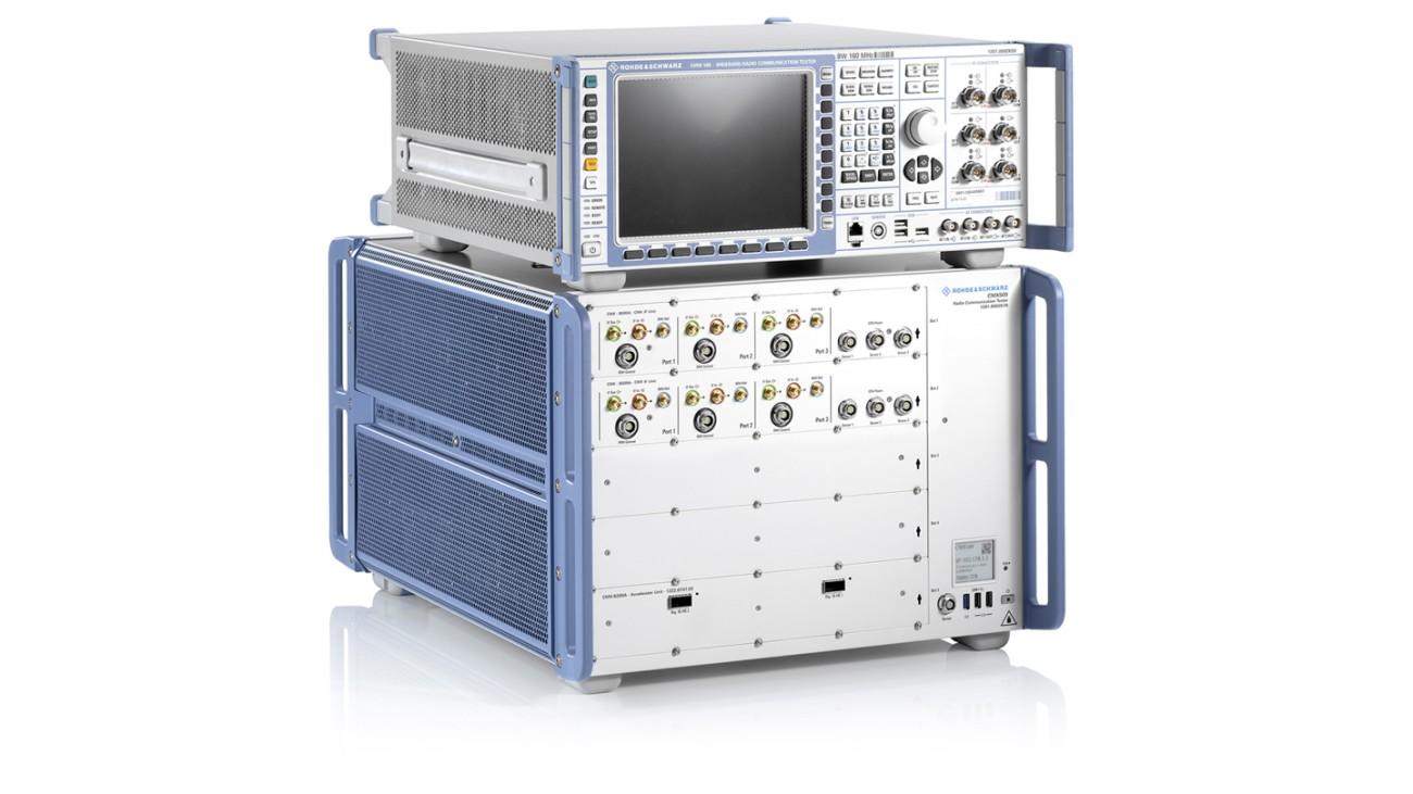 R&S®CMW500 and R&S®CMX500