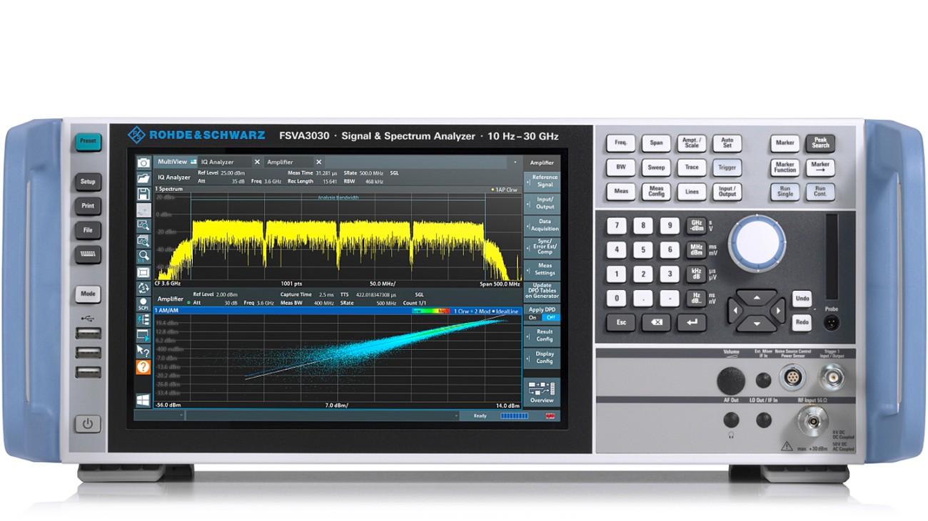 R&S®FSVA3030 signal and spectrum analyzer