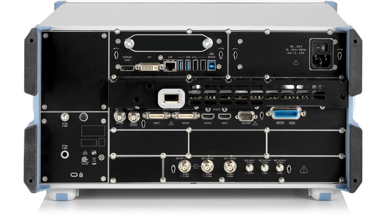R&S®FSW-Signal and spectrum analyzer, rear view
