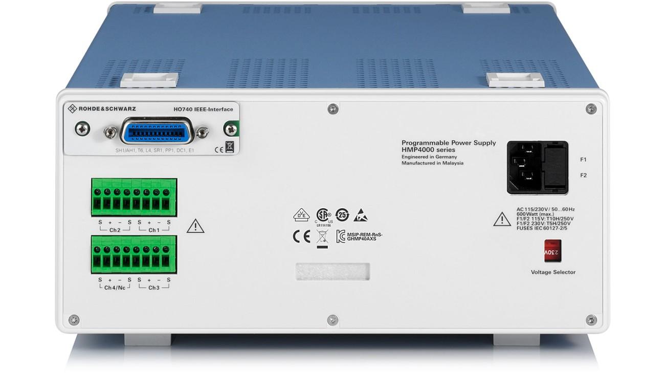 R&S®HMP4000 Power Supply