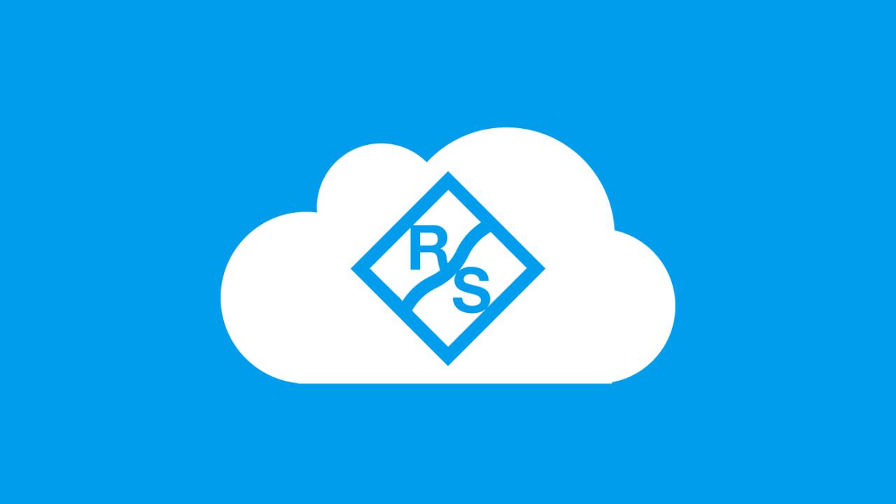 Cloud   Rohde & Schwarz