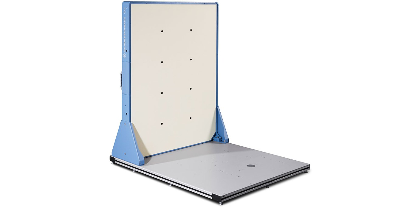 R&S®QAR Automotive radome scanner - panel mounted on bottom plate