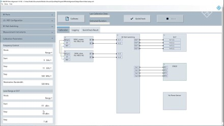 R&S®RF Ports Alignment Software