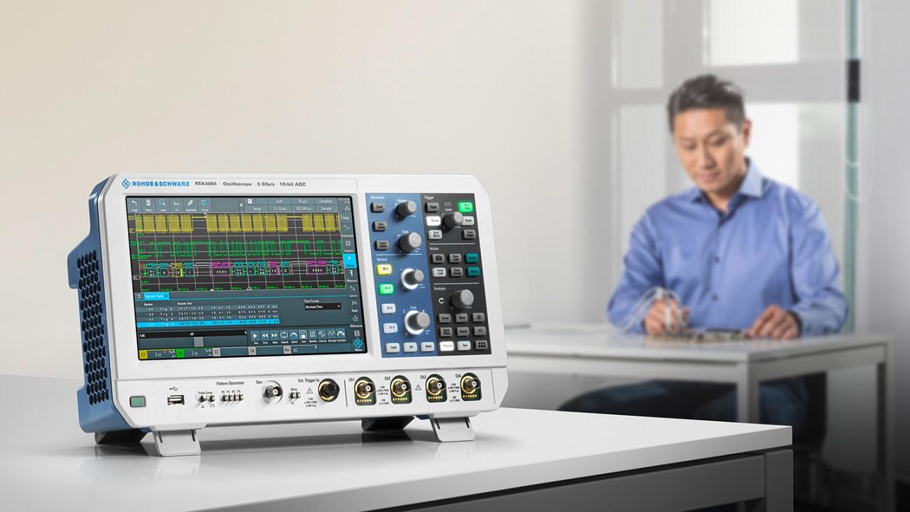 The oscilloscope R&S®RTA4000