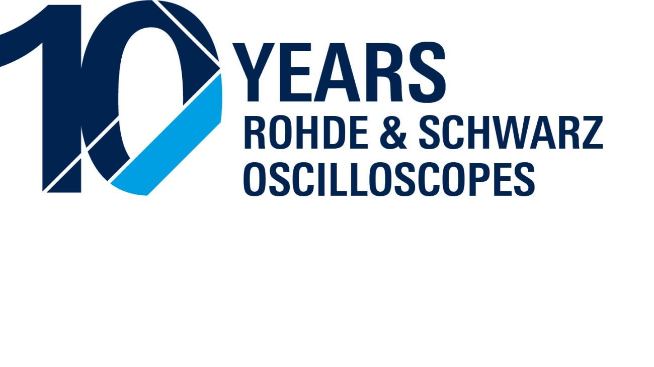 罗德与施瓦茨示波器 10 年创新