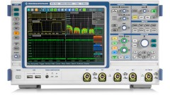 R&S®RTE1000 oscilloscope, 4 channel model