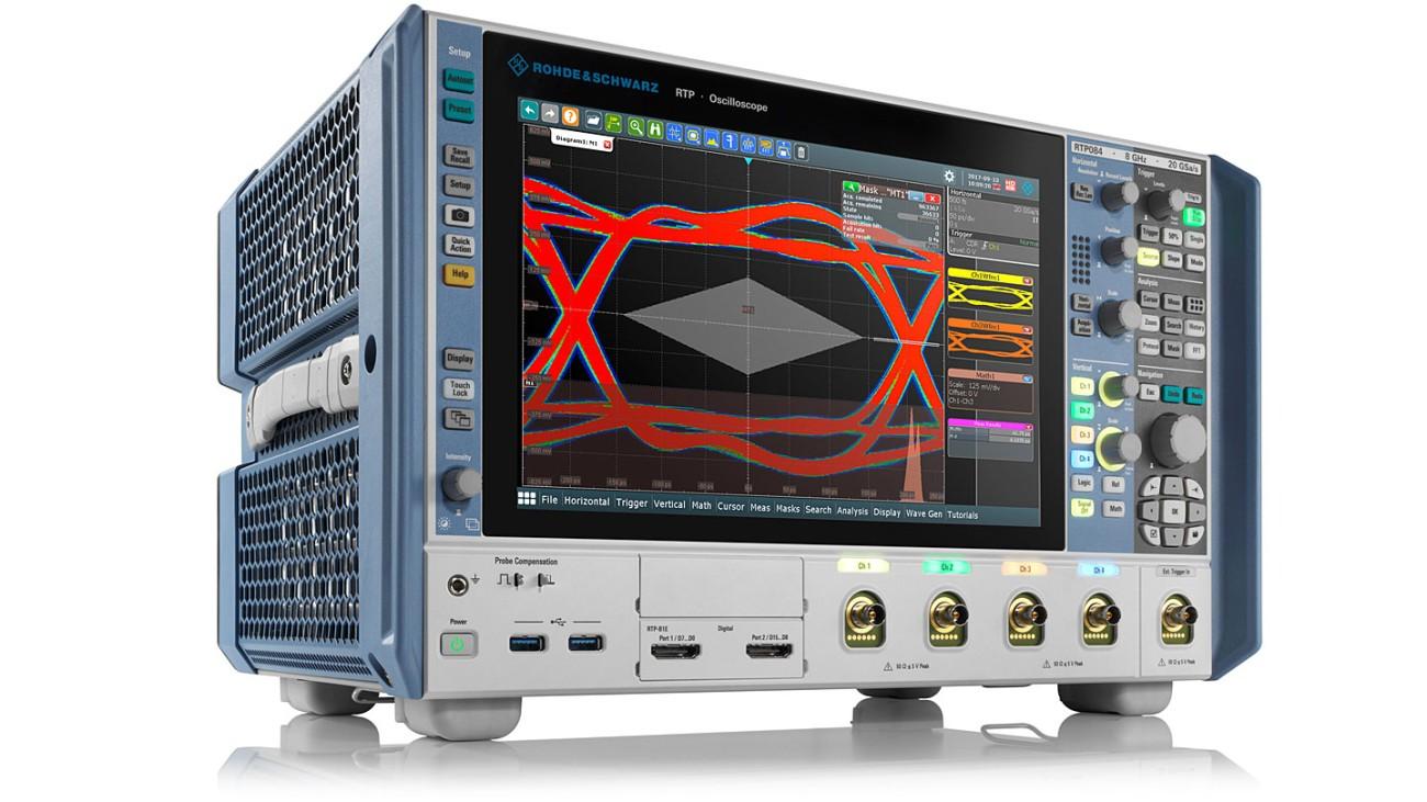 R&S®RTP oscilloscope