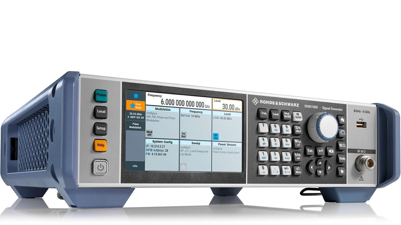 R&S®SMB100B射频信号发生器