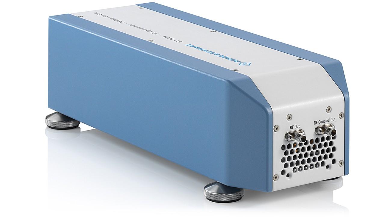 R&S®SZV100A QV band RF upconverter, side view