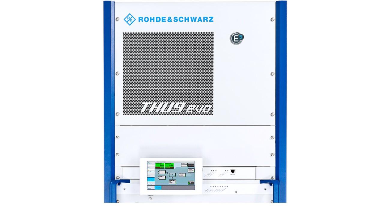 R&S®THU9evo liquid-cooled UHF transmitter
