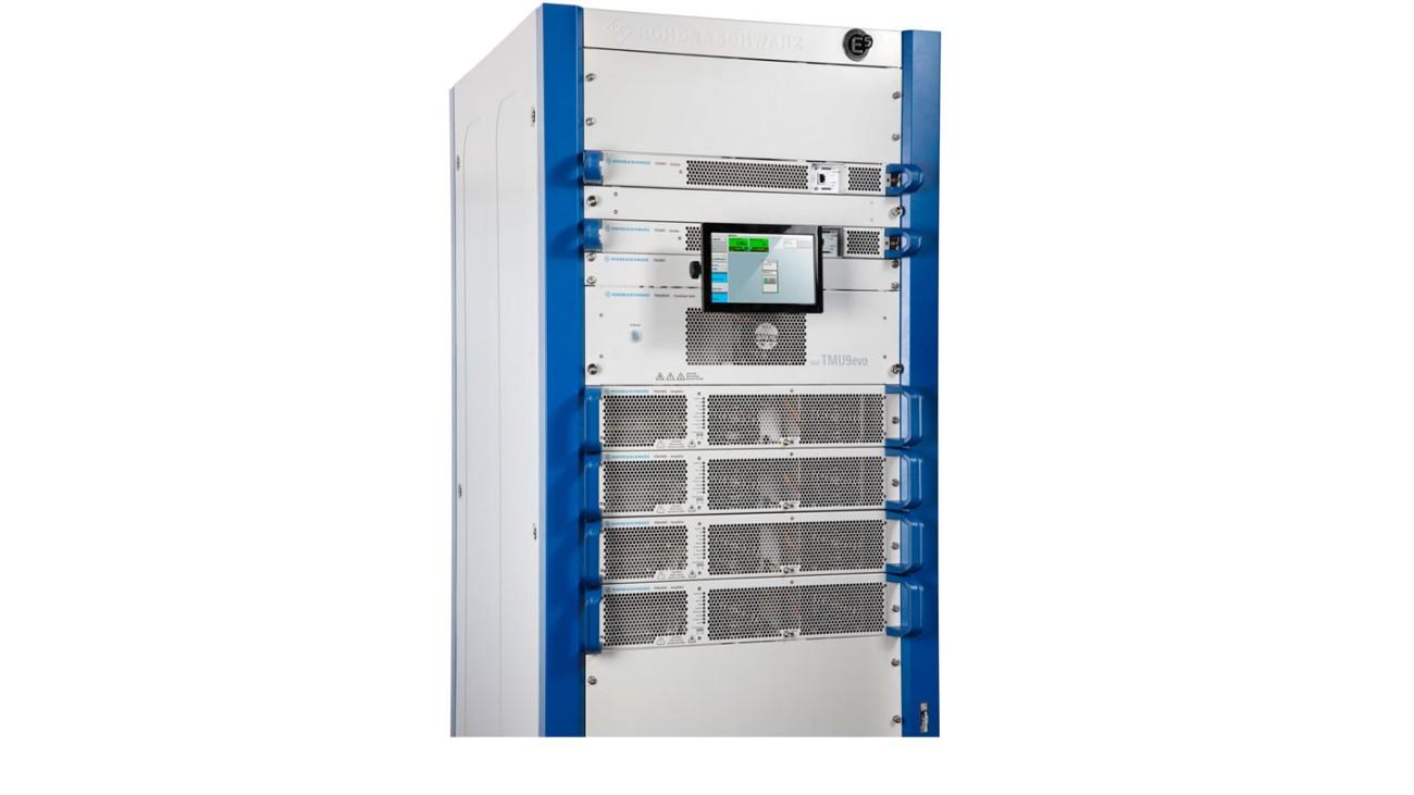 R&S®TMU9evo with 1.5 kW output power
