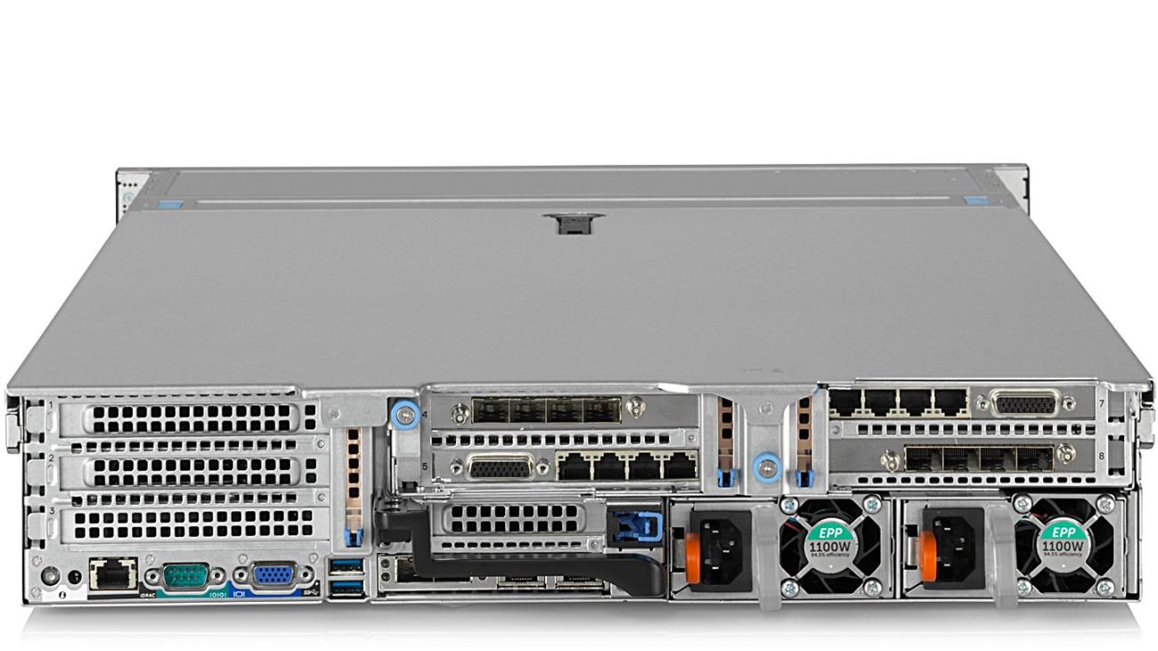 R&S®VENICE video server, rear view