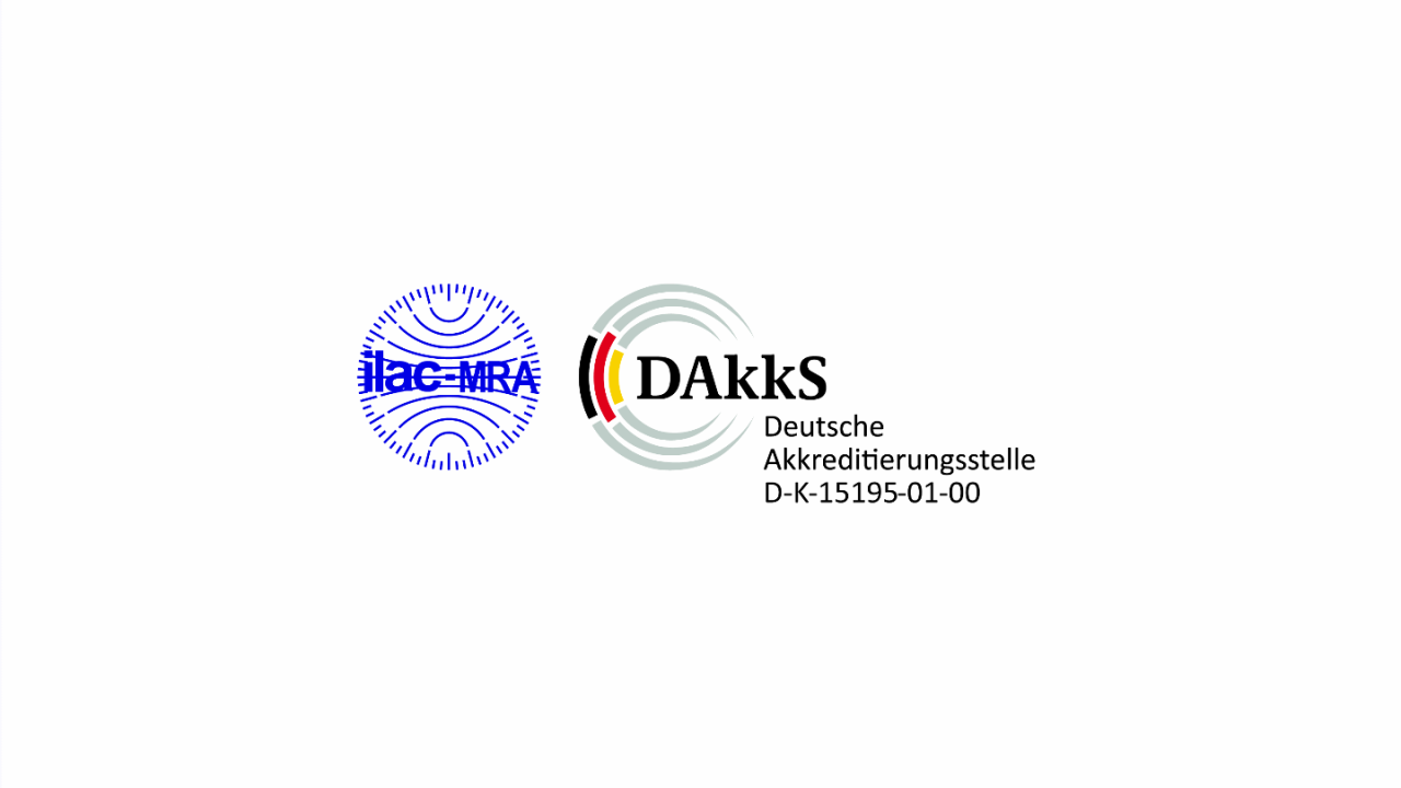DAkkS 认证 15195-01-00