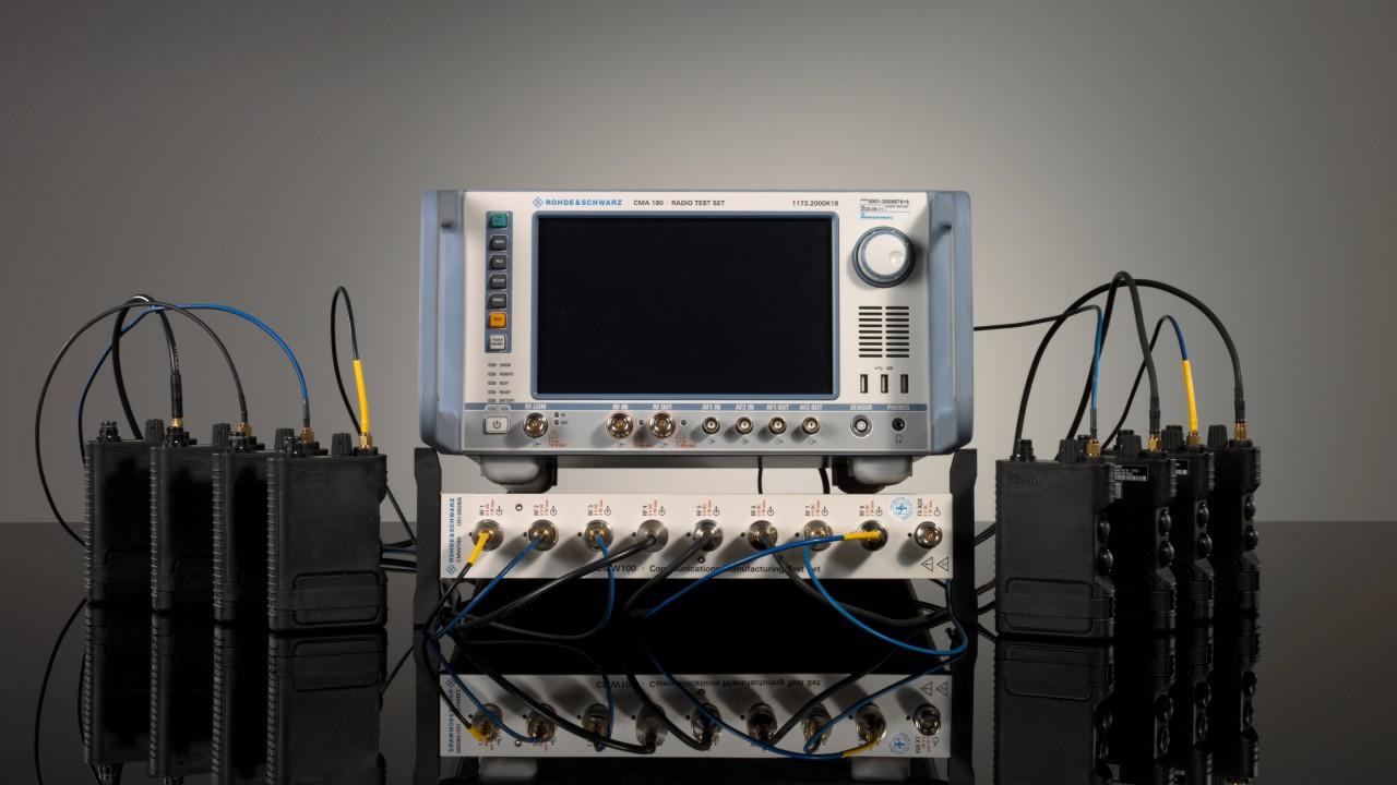 用于波形测试的宽带 I/Q 数据记录