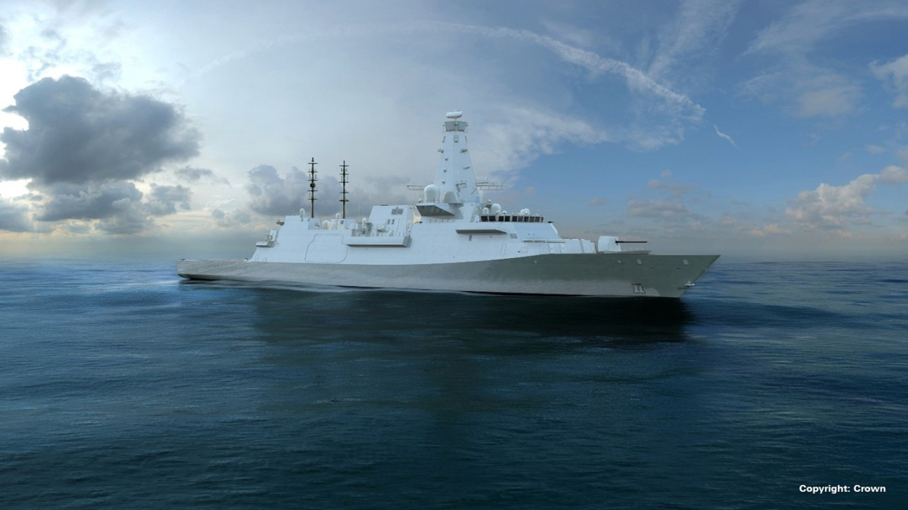 Rohde & Schwarz equips the Royal Navy's Type 26 GCS with integrated communications systems.