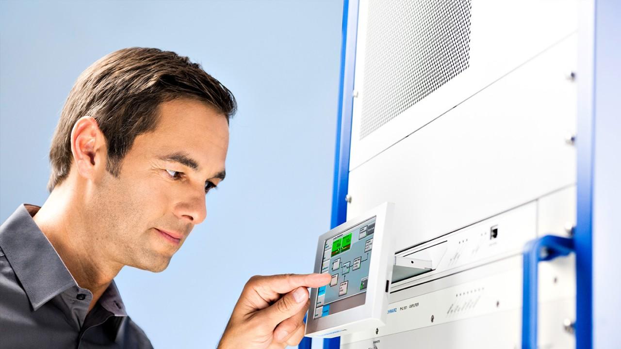 Reducing operating costs | Rohde & Schwarz