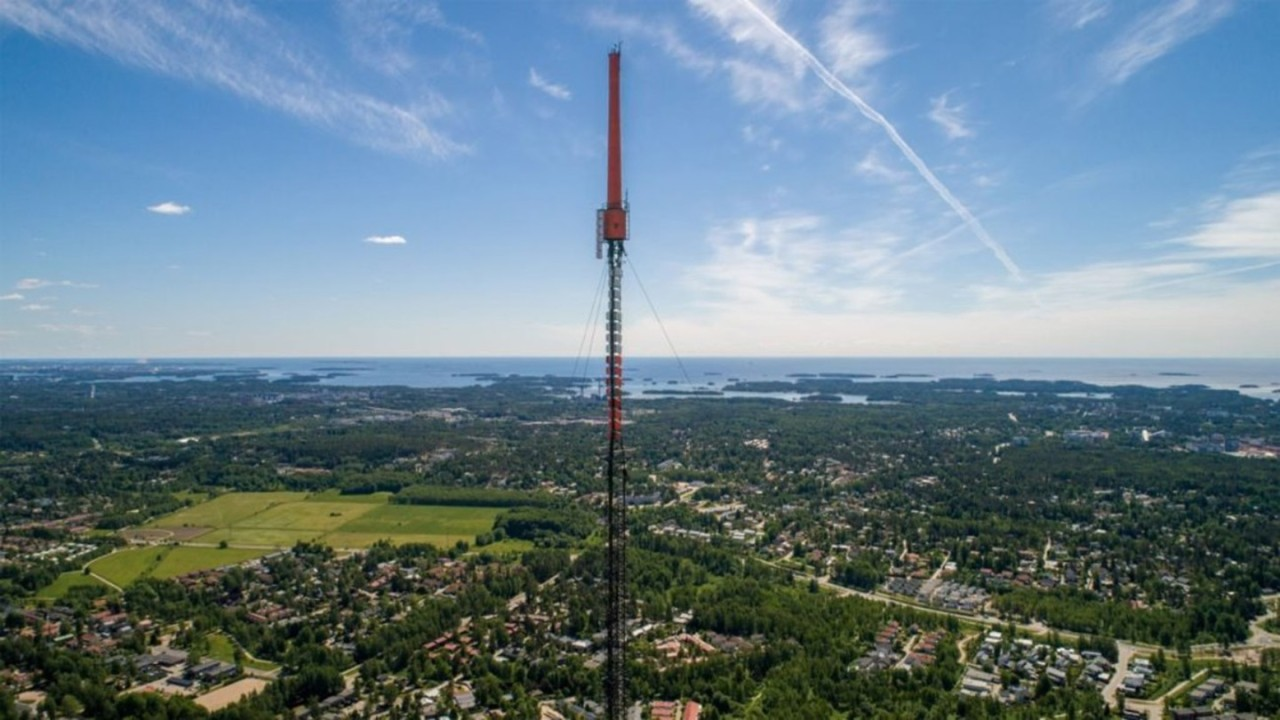 FM- and TV-mast Helsinki-Espoo