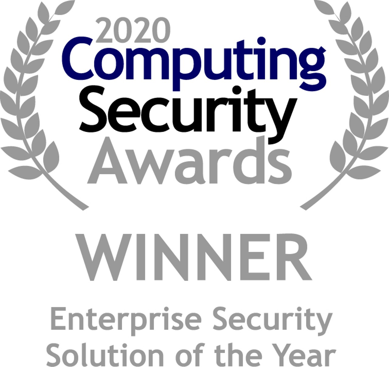 """""""Enterprise Security Solution of the Year"""""""