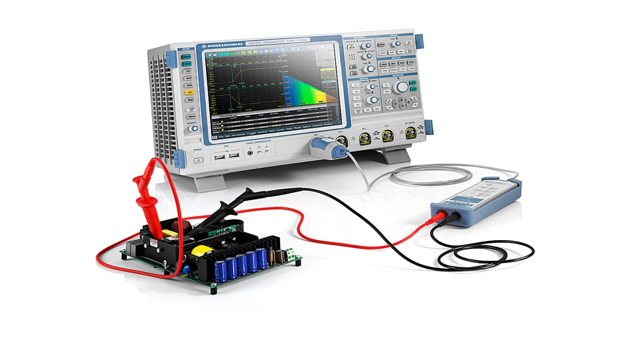 High-resolution oscilloscopes and superior high voltage differential probes