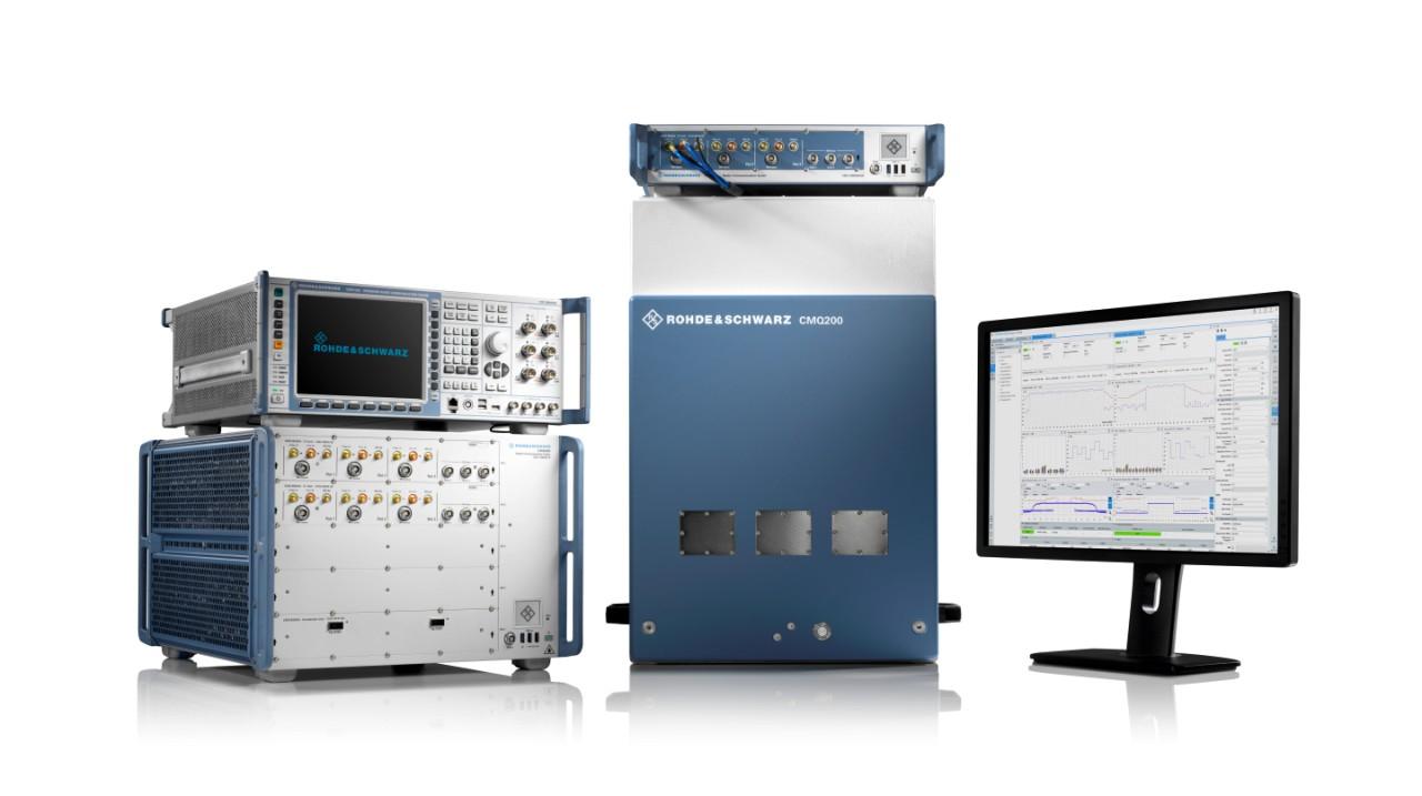 测试复杂设备的性能和设备内共存