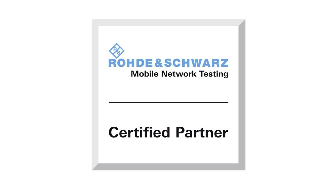 罗德与施瓦茨移动网络测试认证合作伙伴计划