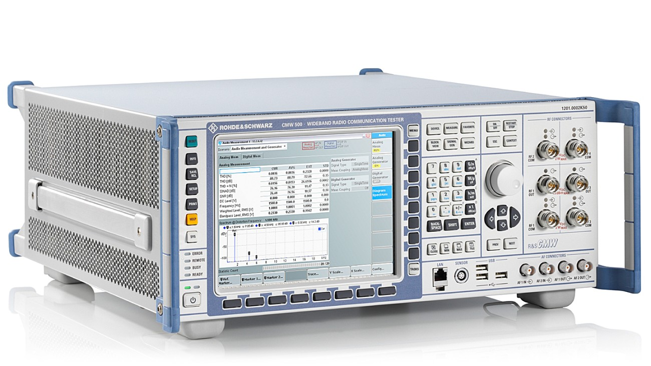 R&S®CMW500 Wideband Radio Communication Tester