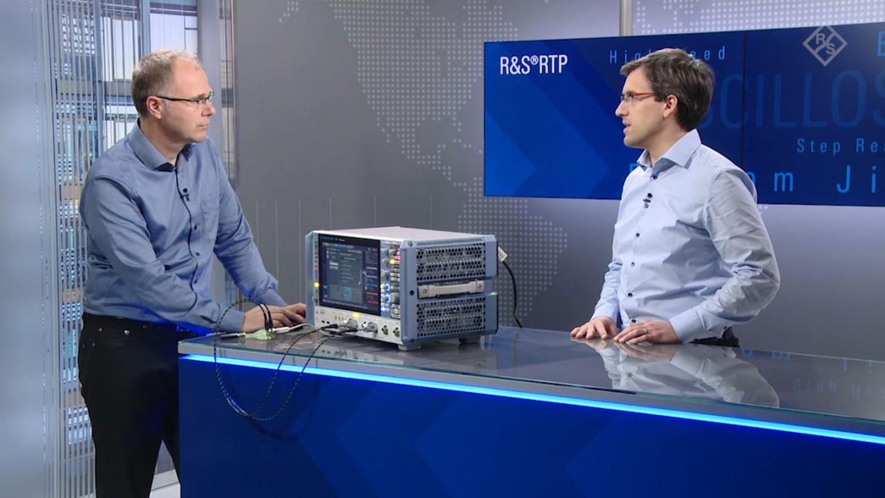 使用罗德与施瓦茨示波器进行高级抖动分析